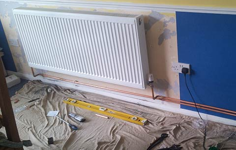 new central heating installations portsmouth - illustration